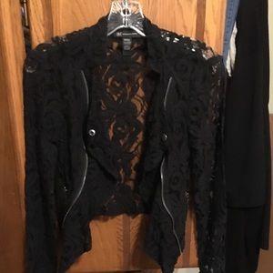 INC International Concepts Lace Jacket